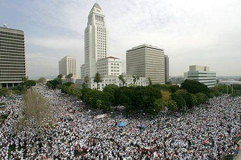 Biểu tình chống dự luật cư trú năm 2006