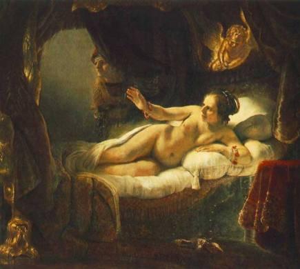 Nudity - Danae Rembrandt
